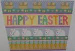 605C NeedleDeeva 5 X 7 18 Mesh Happy Easter Basket Front
