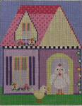 604C NeedleDeeva 4.25 x 5.25 18 Mesh Camilla Chicken's House