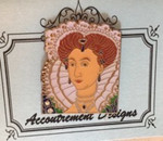 Elizabeth I MAGNET Limited Ed Classic Accoutrement Designs