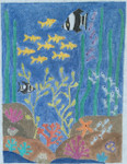 "BB133 Under the Sea BB Needlepoint Designs 18 Mesh 6.5"" x 8"""