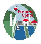 """BT681 Panama Canal 4"""" Diameter Kathy Schenkel Designs"""