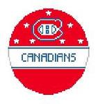 BT346 Montreal Canadians Kathy Schenkel Designs 4 dia