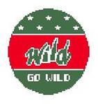 """BT338 MN Wild  4"""" diameter Kathy Schenkel Designs"""
