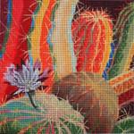 127 Cactus Blossom 8 x 8 18 Mesh Purple Palm