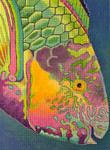 610 Surf Parrotfish 8 x 11 18 Mesh Purple Palm
