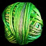 Valdani Silk Floss Neon Greens - VAK1079
