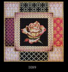 1089 Pink Rose Collage 15x15 13 Mesh Lani Enterprises