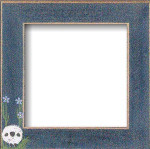 Mill Hill Frame Matte Blue w/Sheep in the Meadow GBFRFA1