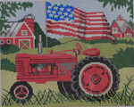 SW112 Red Tractor 8x10 13 Mesh Birds Of A Feather