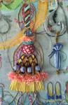 BE-JF101 Tassel #2 18 Mesh Sundance Designs With Barbara Elmore Stitch Guide