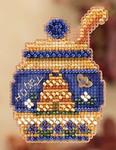 MH182202 Mill Hill Seasonal Ornament Kit Honey Pot (2012)