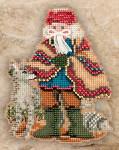 MH201303 Mill Hill Santa Ornament Kit Mesa Santa (2011)