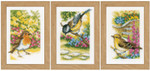 PNV155883 Vervaco Kit Garden Birds - Set of 3