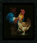 PNV162577 Vervaco Kit Chicken & Rooster