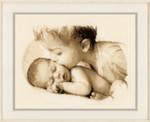 PNV148435 Vervaco Kit Baby & Sister