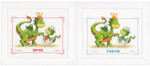 PNV21536 Vervaco Kit Dragons Birth Announcement