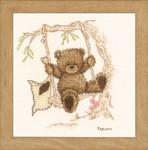 PNV11188 Vervaco Popcorn - Bear Swinging
