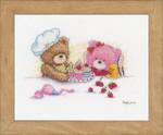 PNV163787 Vervaco Bears & Cupcakes