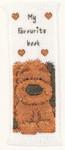 "PNV11209 Vervaco Kit Popcorn - Biscuit Bookmark1.6"" x 4.4""; Ivory Aida 100% Cotton; 16ct"