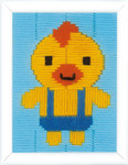 "PNV163443 Vervaco Duck Long Stitch 5"" x 6.4"""