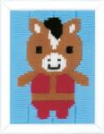 "PNV163444 Vervaco Donkey Long Stitch 5"" x 6.4"""