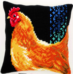 PNV156254 Vervaco Chicken Cushion