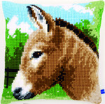 PNV155267 Vervaco Donkey Cushion