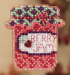 MH182201 Mill Hill Seasonal Ornament Kit Berry Jam (2012)