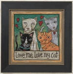 ST150202 Mill Hill Sticks Kit Love Me Love My Cat (2010)