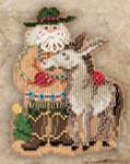 MH201301 Mill Hill Santa Ornament Kit Desert Santa (2011)