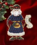 MH206301 Mill Hill Santa Ornament Kit Canterbury Santa (2006)