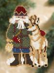 MH208303 Mill Hill Santa Ornament Kit Beartooth Santa (2008)