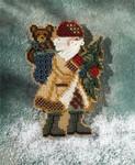 MH207301 Mill Hill Santa Ornament Kit Allegheny Santa (2007)