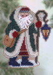 MHPS21 Mill Hill Santa Ornament Kit Glacier Santa (2005)