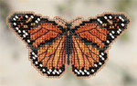 MH182105 Mill Hill Seasonal Ornament Kit Monarch Butterfly (2012)