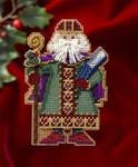 MH206303 Mill Hill Santa Ornament Kit Saxony Santa (2006)