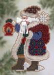 MHPS20 Mill Hill Santa Ornament Kit Ice Cap Santa (2005)