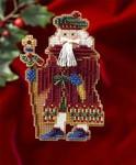 MH206302 Mill Hill Santa Ornament Kit Avignon Santa (2006)