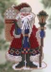 MHPS19 Mill Hill Santa Ornament Kit Snow Drift Santa (2005)
