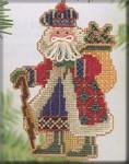 MHMS17 Mill Hill Santa Ornament Kit Mt. McKinley Santa (2004)