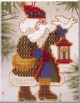 MHAS14 Mill Hill Santa Ornament Kit Dove Santa (2003)