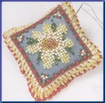 MHBPP4 Mill Hill Special Edition Kit Beaded Pin Pillow Daisy Dream