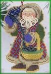 MHNS4 Mill Hill Santa Ornament Kit Northern Lights Santa (2000)
