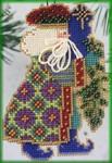 MHNS6 Mill Hill Santa Ornament Kit Eastern Star Santa (2000)
