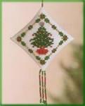 MHTD25 Mill Hill Tiny Treasured Diamond Kit Holiday Trimmings (2004)