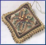 MHBPP2 Mill Hill Special Edition Kit Beaded Pin Pillow Starlight Lily