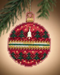 MH161303 Mill Hill Charmed Ornament Kit Ruby Forest (2011)