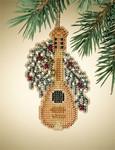MH167303 Mill Hill Charmed Ornament Kit Mandolin (2007)