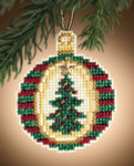 MH161301 Mill Hill Charmed Ornament Kit Golden Tannenbaum (2011)