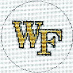 FL-104w Flask - Wake Forest 18 Mesh Meredith Collection